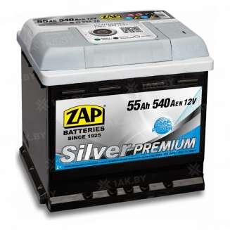 Аккумулятор ZAP (55 Ah) 540 A, 12 V Обратная, R+ 0