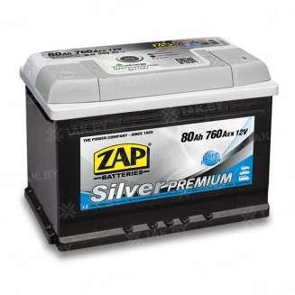 Аккумулятор ZAP (80 Ah) 760 A, 12 V Обратная, R+ 0