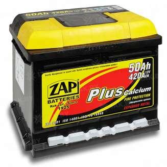 Аккумулятор ZAP (50 Ah) 420 A, 12 V Прямая, L+ 0