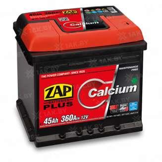 Аккумулятор ZAP (45 Ah) 360 A, 12 V Обратная, R+ 0