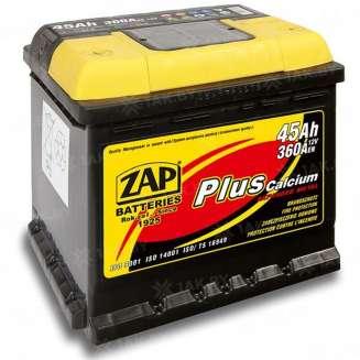 Аккумулятор ZAP (45 Ah) 360 A, 12 V Прямая, L+ 0