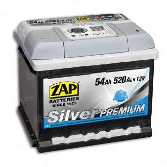 Аккумулятор ZAP (54 Ah) 520 A, 12 V Обратная, R+ 0