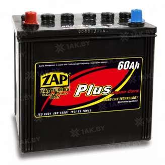 Аккумулятор ZAP (60 Ah) 390 A, 12 V Прямая, L+ 0