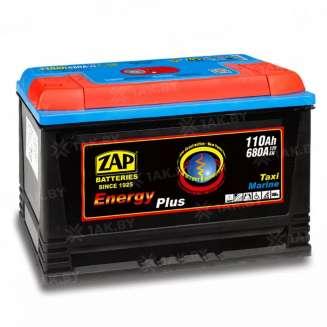 Аккумулятор ZAP (110 Ah) 680 A, 12 V Обратная, R+ 0