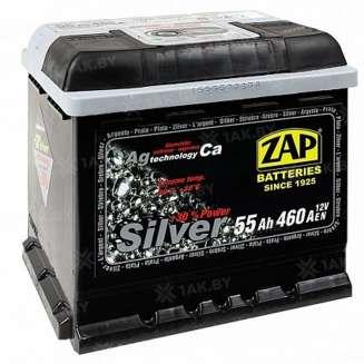 Аккумулятор ZAP (55 Ah) 460 A, 12 V Обратная, R+ 0