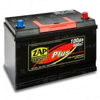 Аккумулятор ZAP (100 Ah) 680 A, 12 V Обратная, R+ 0