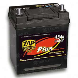 Аккумулятор ZAP (45 Ah) 340 A, 12 V Прямая, L+ 0
