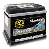 Аккумулятор ZAP (53 Ah) 450 A, 12 V Обратная, R+