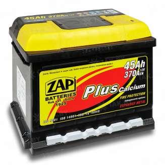 Аккумулятор ZAP (45 Ah) 370 А, 12 V Обратная, R+ 0