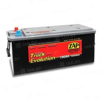 Аккумулятор ZAP (190 Ah) 1050 A, 12 V Боковое расположение 0