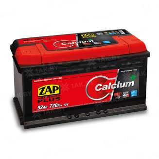 Аккумулятор ZAP (92 Ah) 720 A, 12 V Прямая, L+ 0