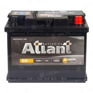 Аккумулятор ATLANT (55 Ah) 430 A, 12 V Обратная, R+ 0