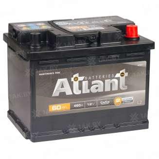 Аккумулятор ATLANT (60 Ah) 460 A, 12 V Обратная, R+ 1