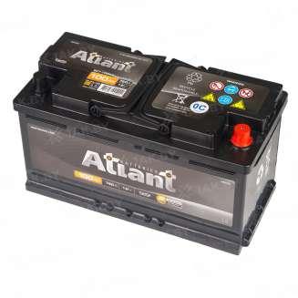 Аккумулятор ATLANT (100 Ah) 760 A, 12 V Обратная, R+ 0