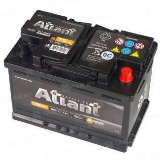 Аккумулятор ATLANT (75 Ah) , 12 V Обратная, R+ 0