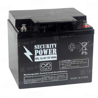 Аккумулятор Security Power (40 Ah) , 12 V 0