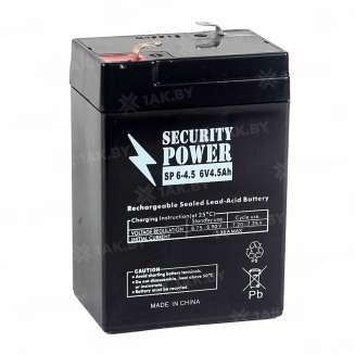 Аккумулятор Security Power (4.5 Ah) , 6 V 0