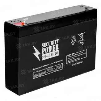 Аккумулятор Security Power (7.2 Ah) , 6 V 0