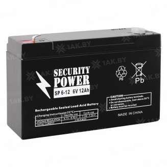 Аккумулятор Security Power (12 Ah) , 6 V 0