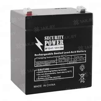 Аккумулятор Security Power (4.5 Ah) , 12 V 0