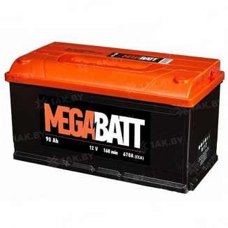 Аккумулятор MEGA BATT (90 Ah) 670 A, 12 V Прямая, L+ 0