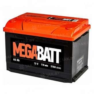 Аккумулятор MEGA BATT (65 Ah) 660 A, 12 V Прямая, L+ 0