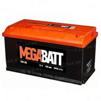 Аккумулятор MEGA BATT (100 Ah) 800 A, 12 V Прямая, L+ 0