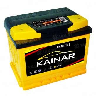 Аккумулятор KAINAR (62 Ah) 580 А, 12 V Обратная, R+ 0