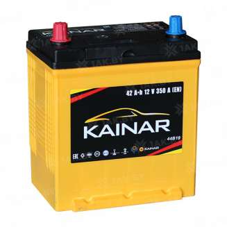 Аккумулятор KAINAR (42 Ah) 350 A, 12 V Прямая, L+ 0