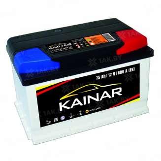 Аккумулятор KAINAR (75 Ah) 690 A, 12 V Обратная, R+ 0