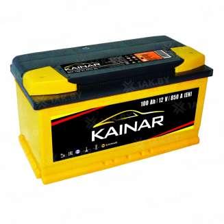 Аккумулятор KAINAR (100 Ah) 850 A, 12 V Обратная, R+ 0