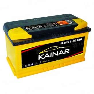 Аккумулятор KAINAR (90 Ah) 800 A, 12 V Обратная, R+ 0