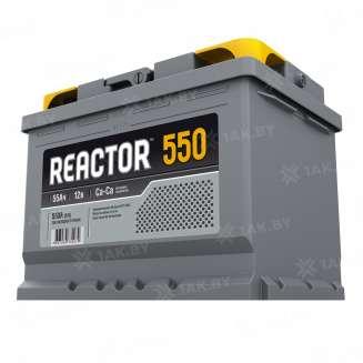 Аккумулятор REACTOR (55 Ah) 550 A, 12 V Обратная, R+ 0