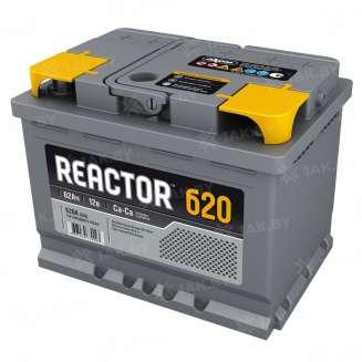 Аккумулятор REACTOR (62 Ah) 620 A, 12 V Обратная, R+ 0
