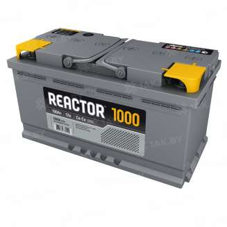 Аккумулятор REACTOR (100 Ah) 1000 A, 12 V Обратная, R+ 0