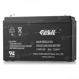 Аккумулятор CASIL (12 Ah) , 6 V 0