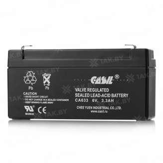 Аккумулятор CASIL (3.3 Ah) , 6 V 0