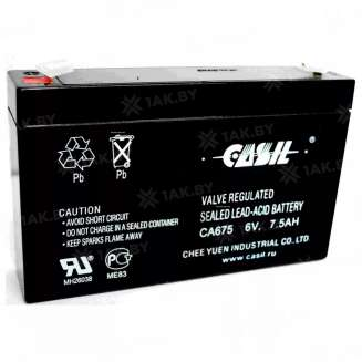 Аккумулятор CASIL (7.5 Ah) , 6 V 0