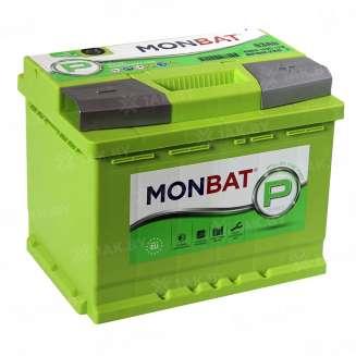 Аккумулятор MONBAT (63 Ah) 600 A, 12 V Обратная, R+ 0
