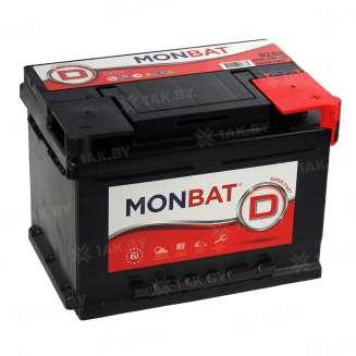 Аккумулятор MONBAT (62 Ah) 560 А, 12 V Обратная, R+ 0