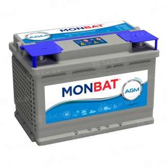 Аккумулятор MONBAT (80 Ah) 800 A, 12 V Обратная, R+ 0