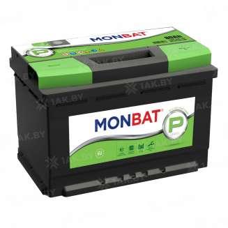Аккумулятор MONBAT (80 Ah) 780 A, 12 V Обратная, R+ 0