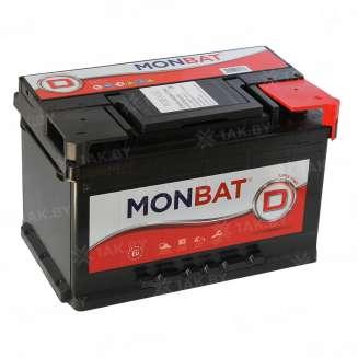 Аккумулятор MONBAT (80 Ah) 770 А, 12 V Обратная, R+ 0
