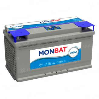 Аккумулятор MONBAT (90 Ah) 850 A, 12 V Обратная, R+ 0