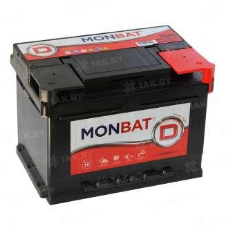 Аккумулятор MONBAT (55 Ah) 520 A, 12 V Обратная, R+ 0