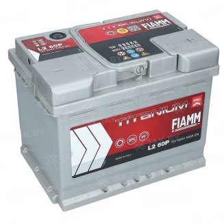 Аккумулятор FIAMM (60 Ah) 540 A, 12 V Обратная, R+ 0