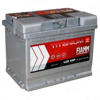 Аккумулятор FIAMM (64 Ah) 610 А, 12 V Обратная, R+ 0