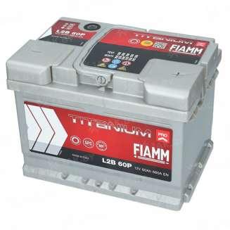 Аккумулятор FIAMM (60 Ah) 660 A, 12 V Обратная, R+ 0