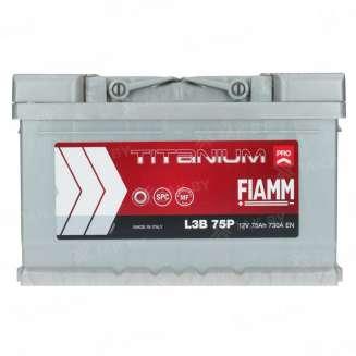 Аккумулятор FIAMM (75 Ah) 730 A, 12 V Обратная, R+ 0