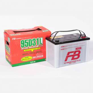 Аккумулятор FURUKAWA (80 Ah) 740 A, 12 V Обратная, R+ 0